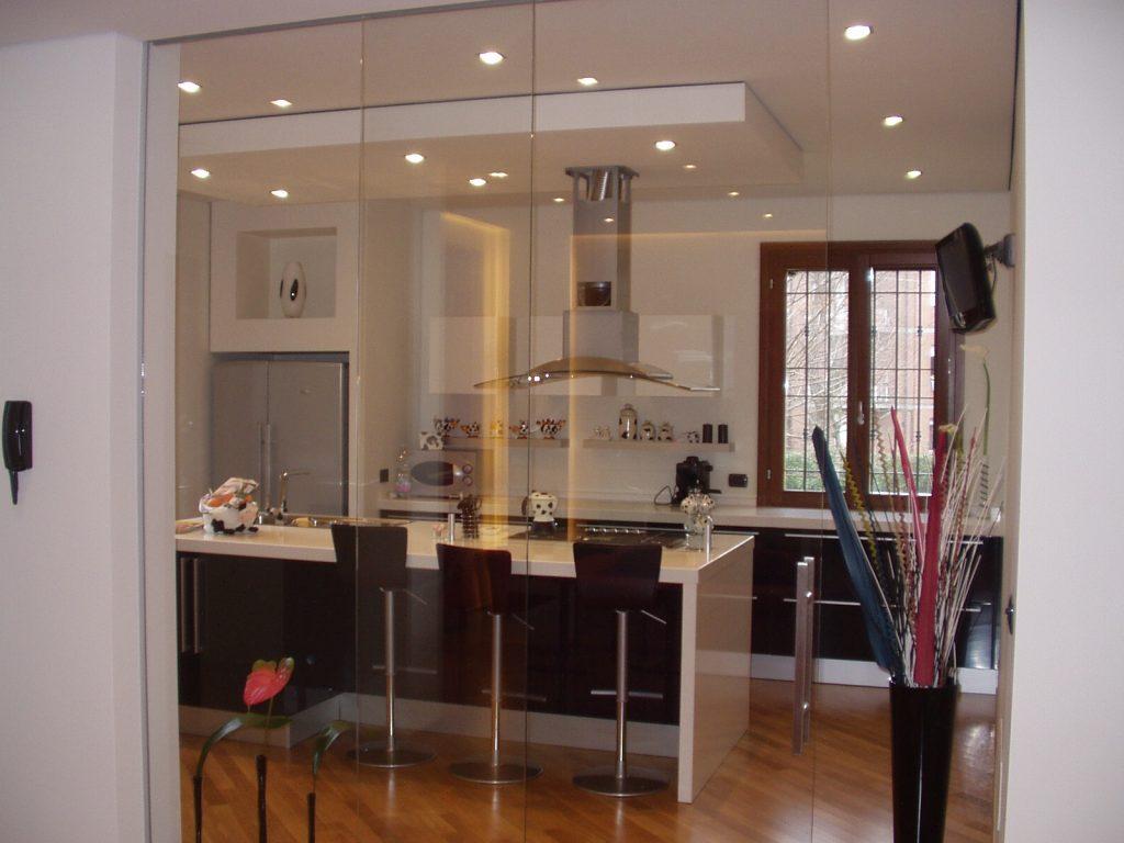 vetrate pareti modulari in vetro gibel