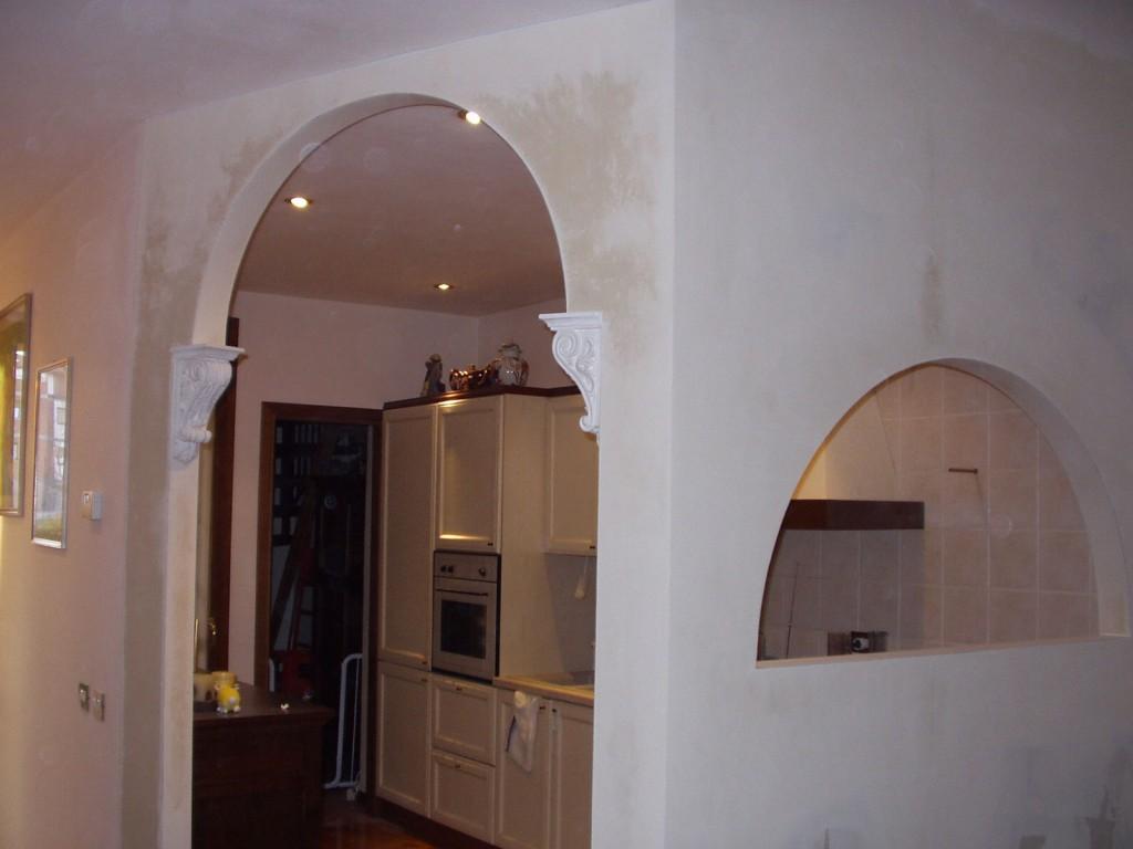 Archi e volti su misura gibel - Decorazione archi in casa ...