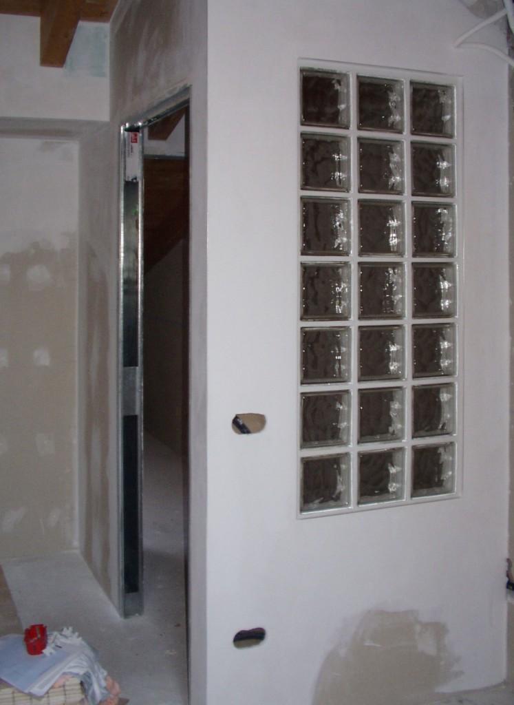 Pareti In Cartongesso E Vetro: Pareti in cartongesso soffitti mobili decori e cornici.