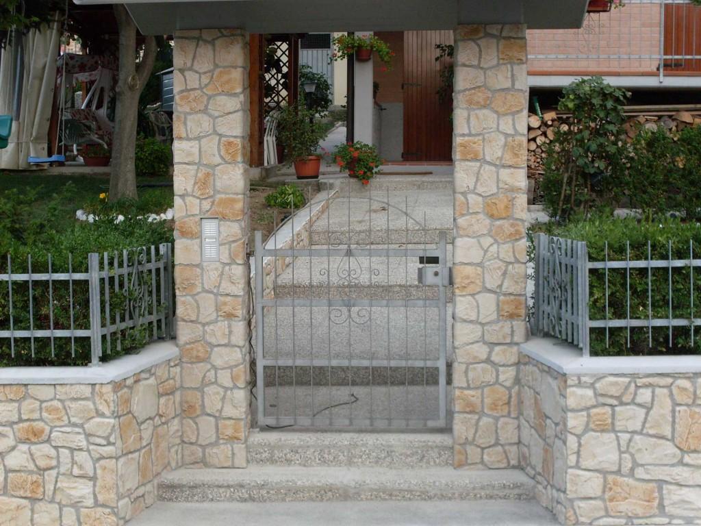 Pietra gibel - Rivestimento pilastri esterni ...